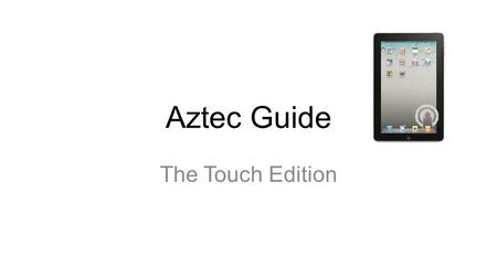 Aztec Guide The Touch Edition Would you like to play some music? Aztec Camera Somewhere in my heart.