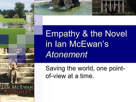 ATONEMENT: A CRITICAL REVIEW