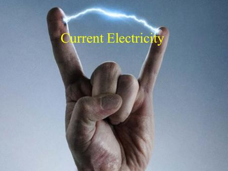Current Electricity.