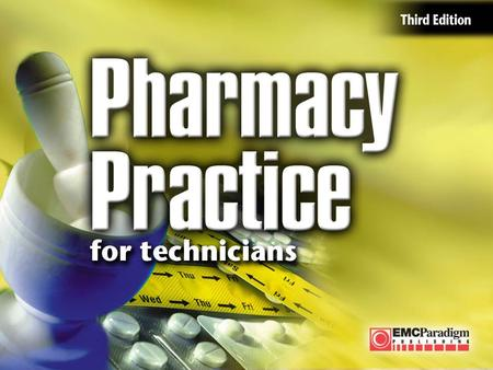Your Future in Pharmacy Practice