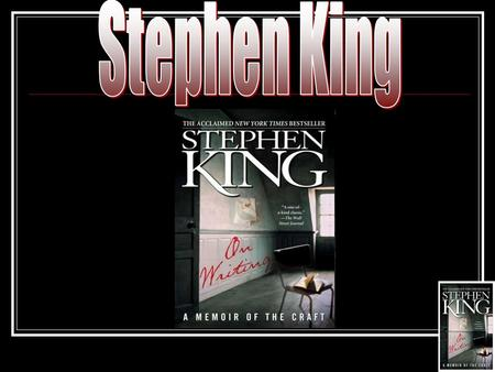 Biography Information Stephen King was born in Portland, Maine in 1947. He made his first professional short story sale in 1967 to Startling Mystery Stories.