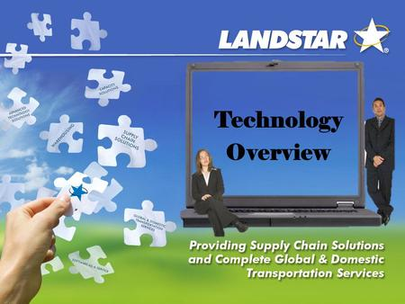 Technology Overview. My Landstar Agent/LCAPP 1 My Landstar Agent - Home.