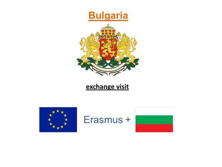 Bulgaria exchange visit Erasmus +. Saturday 10.1.2015 We landed in Sofia at 11pm and we already knew it will be good week full of experiences and fun.