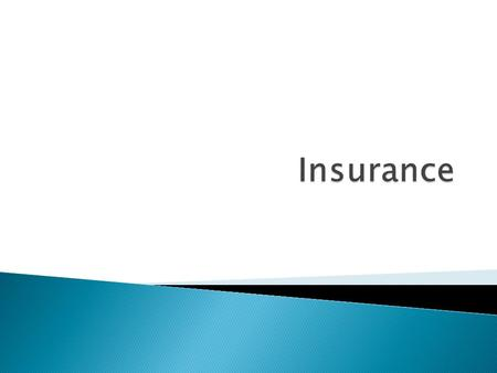  Understanding the concept of insurance  Functions of insurance  Types of insurance  Best form of insurance.