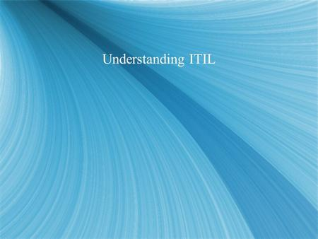 Understanding ITIL. The Legislation Minefield  Privacy & Security  Personal Information Protection Electronic Document Act (PIPEDA)  US Patriot Act.