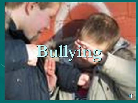Bullying. What is Bullying? Making fun of someone's clothes.Making fun of someone's clothes. Calling someone hurtful names.Calling someone hurtful names.