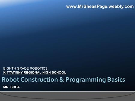 an introduction to programming a robots behavior Use of robots and tangible programming for informal computer science introduction  behind robot programming and behavior we used another type of robot, completely .