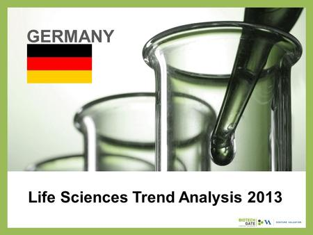 Life Sciences Trend Analysis 2013 GERMANY. About Us The following statistical information has been obtained from Biotechgate. Biotechgate is a global,