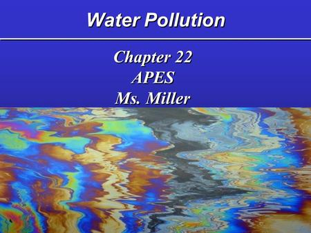 apes living in the environment chapter Ap environmental science (apes) title: living in the environment – 14th ed environment and sustainability (chapter 24.