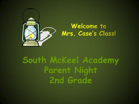 South McKeel Academy Parent Night 2nd Grade