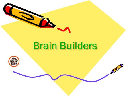 Brain Builders. Our aim To improve the quality and effectiveness of homework tasks. To extend learning by linking homework to activities completed in.
