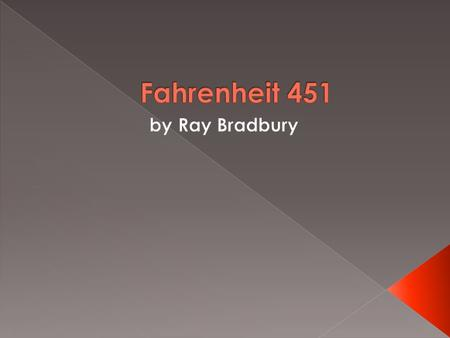 the struggles of montag with external conflict in fahrenheit 451 a novel by ray bradbury Get free homework help on ray bradbury's fahrenheit 451: book summary,  chapter summary and analysis, quotes, essays, and character analysis courtesy  of.