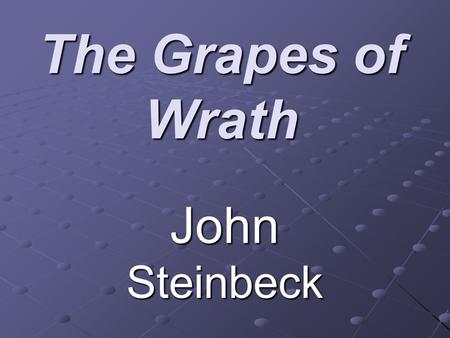 an analysis of biblical allusions in the grapes of wrath by john steinbeck Essay biblical allusions and imagery in steinbeck's the grapes of wrath john steinbeck always makes it a point to know about his subjects first hand.