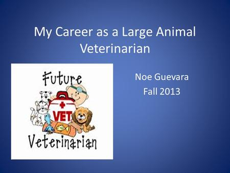 my career path to being a veterinarian How to become a veterinarian in 5 steps explore the career requirements for veterinarians get the facts about job duties, education  get the facts about job duties, education  career options for veterinarians in addition to working at clinics, veterinarians may work in many other settings and for.
