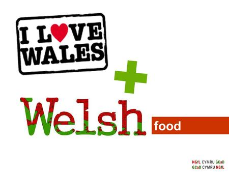 Food. What do all the above foods have in common? All the above food products are produced in Wales.