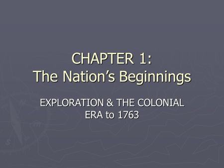 an analysis of the english objectives for exploring and colonizing the americas The french colonization of the americas began in the gallia to that land between new spain and english jacques marquette began exploring the.