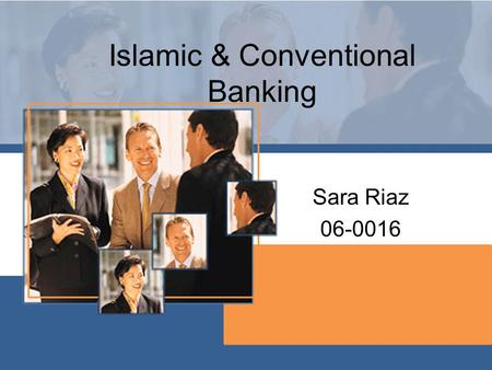 Islamic & Conventional Banking