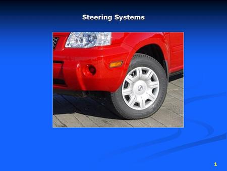 Steering Systems.
