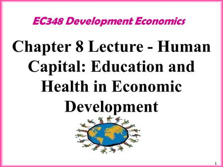 Education Economic Development Essay