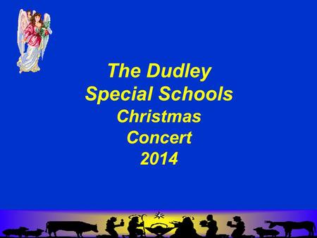 The Dudley Special Schools Christmas Concert 2014.