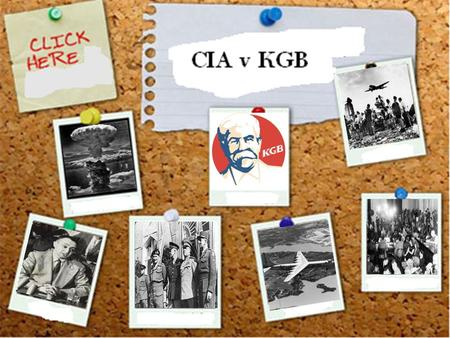 Spies Like Us (CIA v KGB)