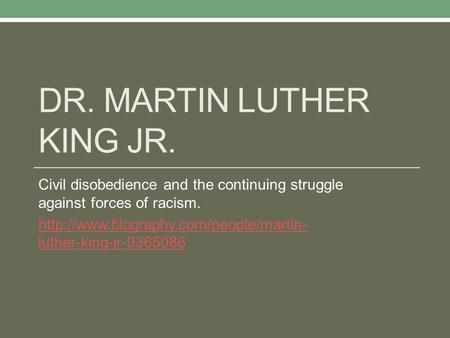 an analysis of an excerpt from a letter from birmingham jail by dr martin luther king jr Transcript of the letter from birmingham jail, by martin luther king, jr by kylee and olivia the letter from birmingham jail main  martin luther king, jr uses a.