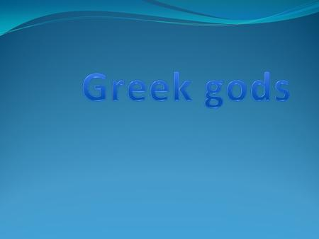 Greek god of the seas, horses, and earth quakes.