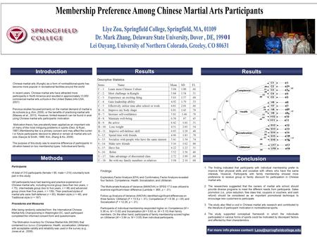 Previous studies focused primarily on the market demand of martial a rts schools (e.g.,Kim, 2009), or the benefits of practicing martial arts (Massey et.