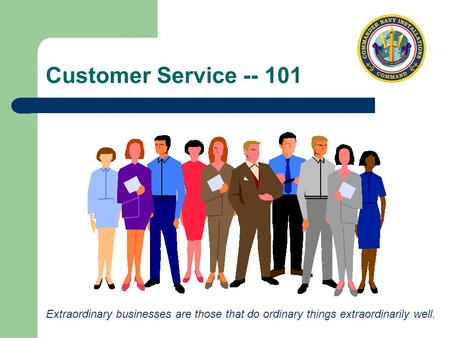 Customer Service Training Nuggets: Customer Service – 101