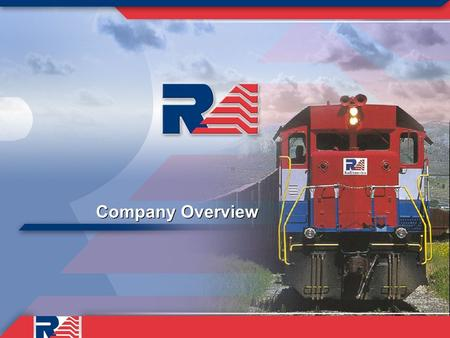 Company Overview. Today's discussion covers four topics 1)Background 2)Improvements made at RailAmerica to date 3)Things we're working on 4)Our plans.