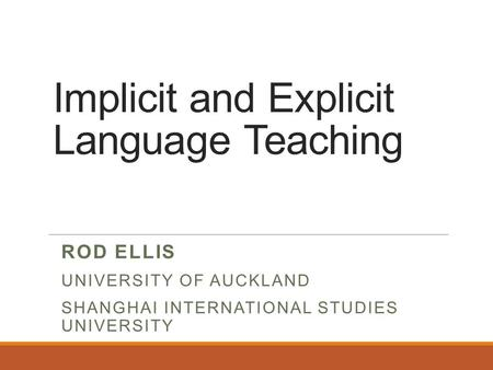 effect of explicit and implicit vocabulary instruction english language essay The promotion of explicit and implicit learning strategies in english learner strategies and learning techniques in the publications on foreign language instruction in the english-speaking world was who used the explicit/implicit criteria for his distinction between.