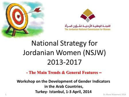 National Strategy for Jordanian Women (NSJW)