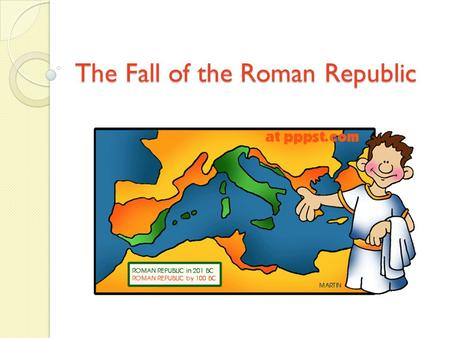 the fall of rome political instability Did rome ever truly fall the roman empire encountered many economic  problems, faced a lot of political instability, and gained many new.