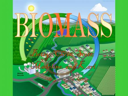 Biomass is living, when used, dead, biological material that can be used as fuel or production. Biomass can be plants or animals that are used to create.