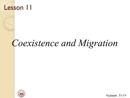 資 管 Lee Lesson 11 Coexistence and Migration. 資 管 Lee Lesson Objectives Coexistence and migration overview Coexistence mechanisms ◦ Dual Stack ◦ Tunneling.