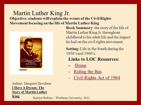 The Church that Nurtured Dr Martin Luther King - Review of ...