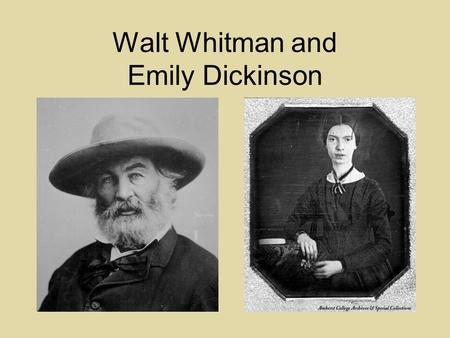 walt whitman and transcendentalism essay Enjoy the best walt whitman quotes at brainyquote quotations by walt whitman, american poet, born may 31, 1819 share with your friends.