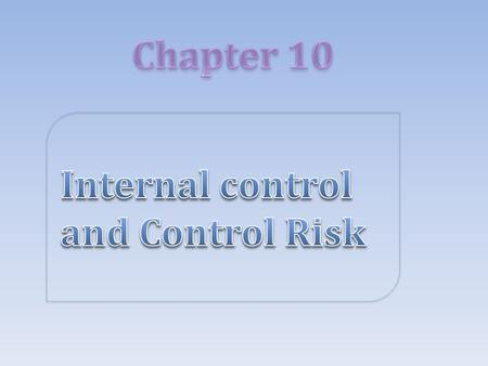 company internal control Many opportunities for fraud exist however, using due diligence and proper internal controls may help mitigate.
