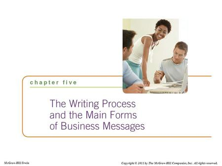 Copyright © 2011 by The McGraw-Hill Companies, Inc. All rights reserved. McGraw-Hill/Irwin.