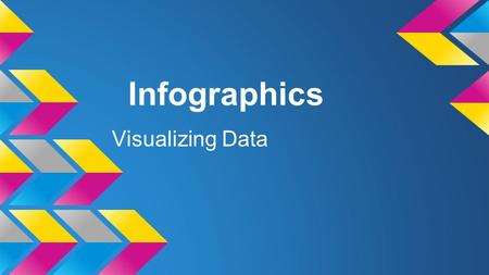 Infographics Visualizing Data. What are they? InfographicsInfographics can be used to visualize data in beautiful and interesting ways making it fun and.