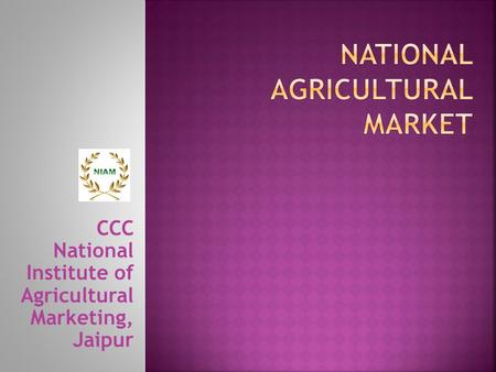 National Agricultural Market