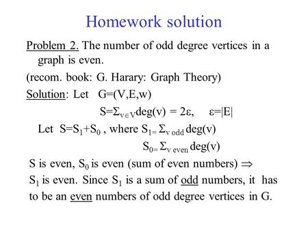 Analytic number theory homework solutions