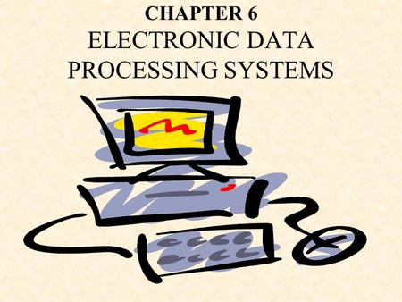 CHAPTER 6 ELECTRONIC DATA PROCESSING SYSTEMS. Presentation Outline I.Paper-Based Input Systems II.Paperless Input Systems III.Paper-Based Processing Systems.