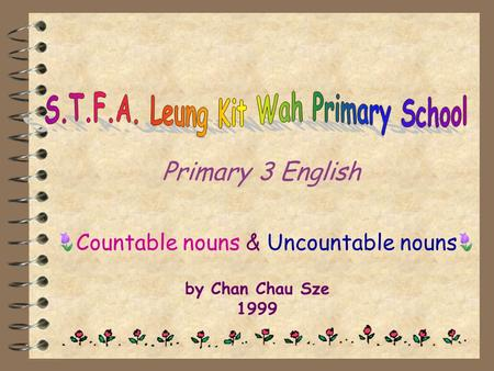 S.T.F.A. Leung Kit Wah Primary School
