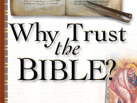 How Can We Know the Bible was Copied Accurately?
