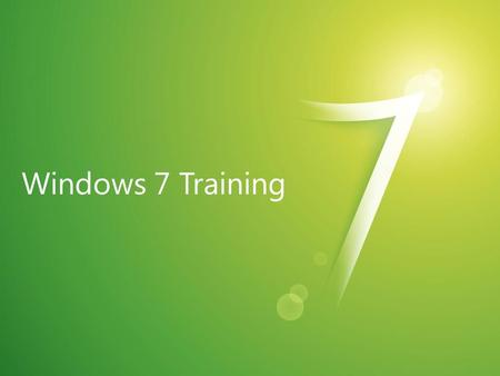 Windows ® 7 Libraries And Federated Search Name Title Microsoft ® Corporation.
