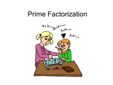 Prime Factorization. What is Prime Factorization? The process of converting a number into a product of prime numbers.