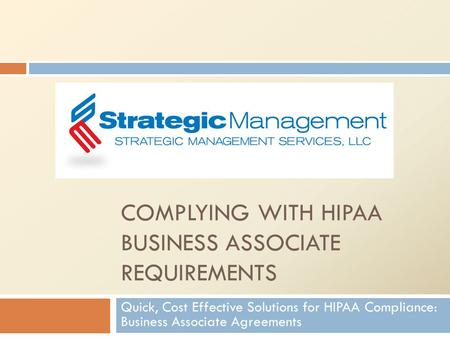 Anatomy Of A Hipaa Breach - Ppt Download