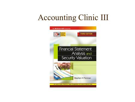 Accounting Clinic III.