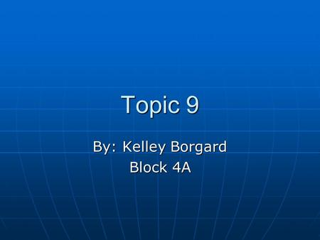 Topic 9 By: Kelley Borgard Block 4A. Theorems 2.6 and 2.9 2.6: Derivatives of Sine and Cosine Functions 2.6: Derivatives of Sine and Cosine Functions.